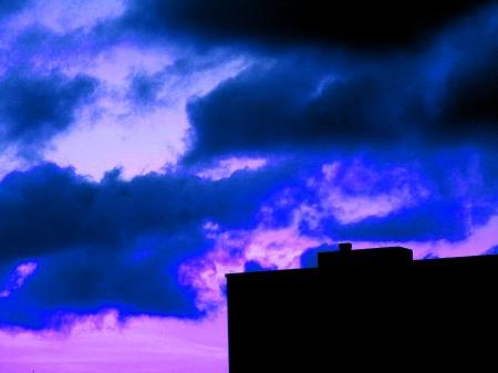 Färgad himmel