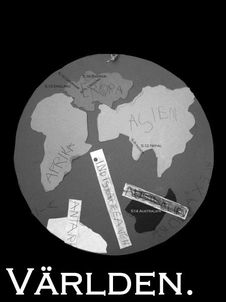 Världen, ritad av EU