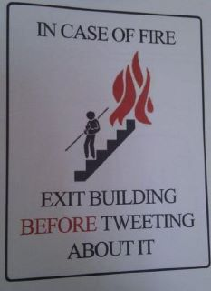 Ironi över twitter