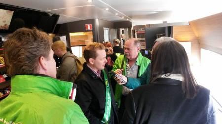 Göran intervjuad