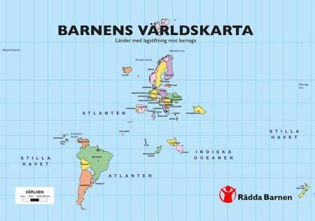Barnens världskarta